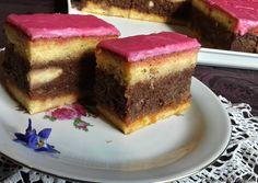 Puncs szelet 🍰 recept foto Cheesecake, Cheesecakes, Cherry Cheesecake Shooters