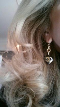 Chanel Charm Heart Earrings Designsbyz