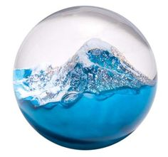 600 Glass Eye Studio Glacier Paperweight                                                                                                                                                                                 More