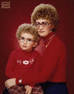 Awkward Mom & Kid Photos. Courtesy of Yahoo