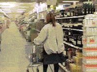The Never Ending Aisle Prank is brilliant.