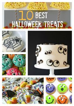 Halloween Party Treats that are super cute and easy to make