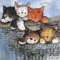 Cat Illustration by Alex Clark