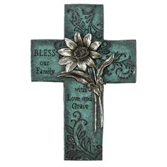 Cross Wall Decor, Crosses Decor, Wood Crosses, Metal Wall Decor, Home Wall Decor, Painted Wooden Crosses, Mosaic Crosses, Turquoise Walls, Turquoise Bathroom