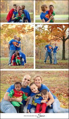 Superhero Family Shoot | Maryland Portrait Photographers | Maryland Wedding Photographer | DC Wedding Photography | Inspired Photography