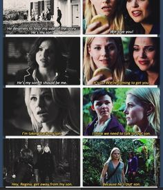 Character development.  I love both Emma and Regina so much and am so happy that they're finally coming around to the idea that they can both be awesome moms to Henry(: