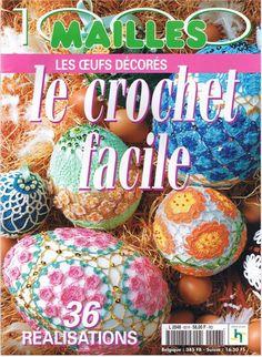 Revista huevos de pascua de crochet patrones