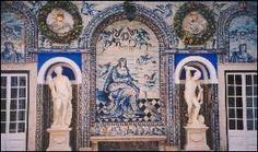 Portuguese ceramic tiles - Azulejos em cerâmica portugueses