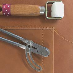 Bleu de Chauffe workshop #leather #atelier #artisan