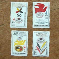チェコスロバキア時代の切手L50『世界切手博覧会1962年』Charkha