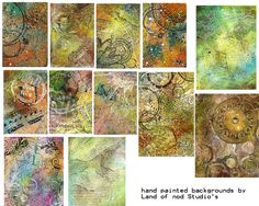 free to use sheets for your art work, from the digital collage sheets flickr group