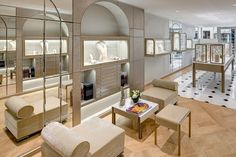 Boucheron newly redesigned flagship store in Paris, Place Vendome
