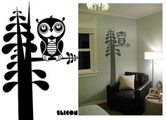 shicon & wotto wall decal - nursery wall art