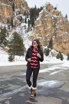 colorado, winter style, winter fashion, patagonia synchilla fleece pullover, patagonia packable down jacket, sorel tofino boots, sorel style // grace wainwright from a southern drawl