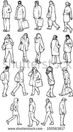 Line art drawings people cartoon 15 ideas Human Figure Sketches, Human Sketch, Human Figure Drawing, Figure Sketching, Figure Drawing Reference, Urban Sketching, Human Reference, Drawing Practice, Anatomy Reference