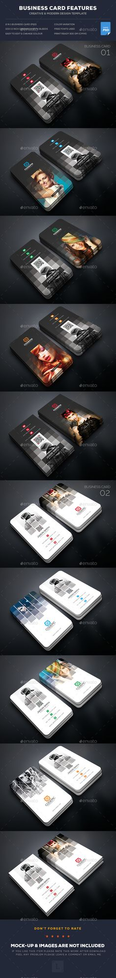 Photography Business Card Bundle - Business Cards Print Templates Download here : https://graphicriver.net/item/photography-business-card-bundle/18035038?s_rank=146&ref=Al-fatih