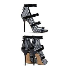 SS 144 RUNWAY STYLE NEW LADIES RIBBON PLATFORM HEELS PEEP TOE BY SHOE... via Polyvore featuring shoes, pumps, platform pumps, casadei pumps, platform shoes, casadei and casadei shoes