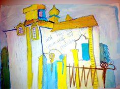 www.martinagrigoleit.de www.bigpresent.de Architecture, Painting, Art, Russia, Painting Art, Paintings, Kunst, Paint, Draw