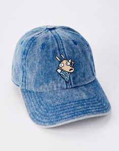 4314486e0e14d Denim Rocko s Modern Life Dad Hat - Nickelodeon Blazer Jackets For Women