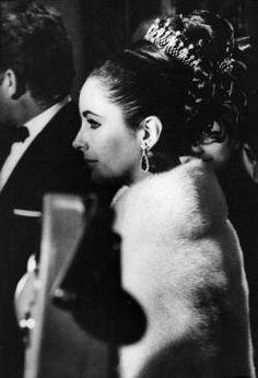 Elizabeth and Richard at the British Embassy in Paris, 1963