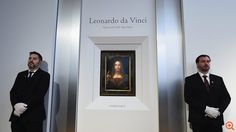 """""""Salvator Mundi,"""" reportedly the last Leonardo Da Vinci painting in private hands, will go on auction on November 15 in New York City. Islamic Paintings, Old Paintings, Most Expensive Painting, How To Study Physics, Salvator Mundi, Lucas Cranach, Jesus Painting, Famous Artists, Auction"""