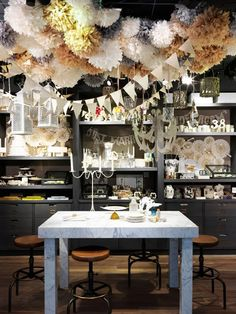 party room at Houston's BHLDN store.
