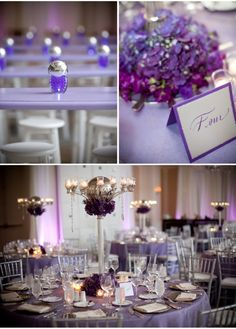 """Searched """"purple and silver wedding"""" on Google Images.."""