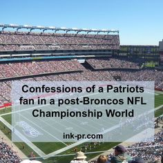 How do you know if someone is a Patriots fan? Don't worry, they'll tell you.