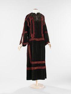French silk evening dress ca. 1922
