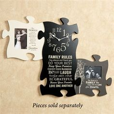 Puzzle Piece Wall Decor p. graham dunn puzzle wall | gifts | pinterest | walls, playrooms