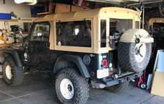 American Convoy ruggedized soft top pictures and configurations Jeep Cj6, 2000 Jeep Wrangler, Jeep Pickup, Jeep Truck, Suv Trucks, Mini Trucks, Jeep Tops, Jeep Unlimited, Safari Jeep