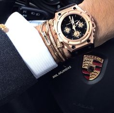 #menstyle #lindewerdelin #spidospeed #gold #luxury #porsche