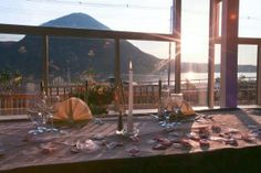 View from Chalet On The Hudson, a wedding venue in Cold Spring, NY with views of the Hudson River and Hudson Highlands.
