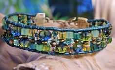 EMERALD Crystal SALAD Ocean Green Single by BraceletsofBlueRidge