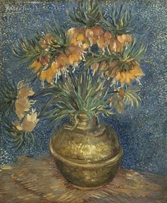 Van Gogh, Fritillaries in a Copper Vase