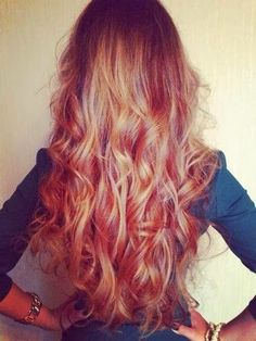 I love this COLOR!!! @Katelyn Kibbee  @Cheyenne S. @Riley❥✼ what if i dyed my hair this color??? plz comment