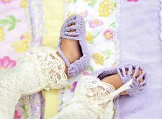 """Another pinner said: """"Adorable girl sandals now available in my etsy shop!"""" I want to figure out to make these myself!"""