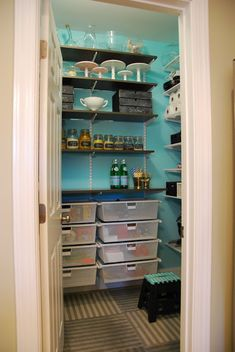 Pantry Organization Complete! Love this pantry, idea!