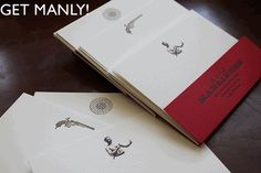 This stationary by Art of Manliness is pretty great