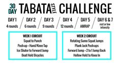 The 30-Day Tabata-Style Workout Challenge That Will Have You Sweating Like There's No Tomorrow | Shape Magazine