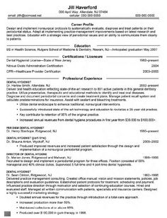 Dental Hygiene Resume Template Example Of Resume For Job Application In Malaysia Resumescvweb