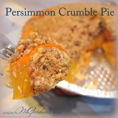 I wait all year for Persimmons to be in season. It's a short one! They are perfect for Thanksgiving as they look like little pumpkins! I love pie, but it's often way too sweet for me. I've included a. Pie Crumble, Pie Crusts, Little Pumpkin, Granny Smith, Pumpkins, Real Food Recipes, Apples, Thanksgiving, Nice