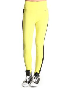 Only $6.99.    Buy High Waisted Side Colorblock Zip Back Pant Women's Bottoms from Apple Bottoms. Find Apple Bottoms fashions & more at DrJays.com