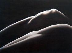 Landscape knees Oil on canvas