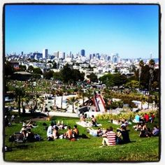 View from the Top Corner of Dolores Park EyeSpyGoldenSF.com