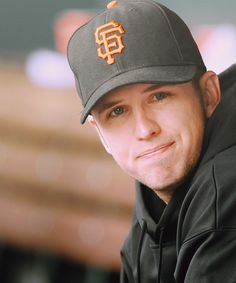 Hes such a sweetie ;) Sf Giants Catcher, Buster Posey