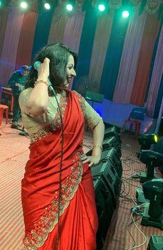 Red Saree, Sari, Most Beautiful Indian Actress, Love Poems, Indian Beauty Saree, Indian Actresses, Booty, Cute, Fashion
