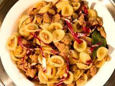 Sausage and Radicchio Orecchiette from CookingChannelTV.com