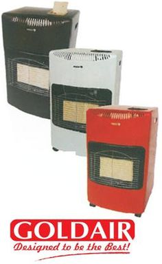 Goldair Gas Room Heater - red