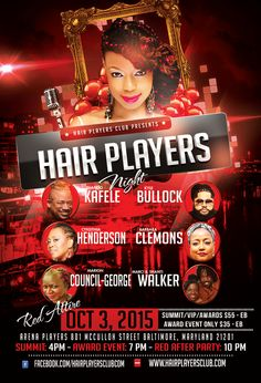 New Post FREE RED After Party: Award Hair Fashion Show on Hair Players Club
